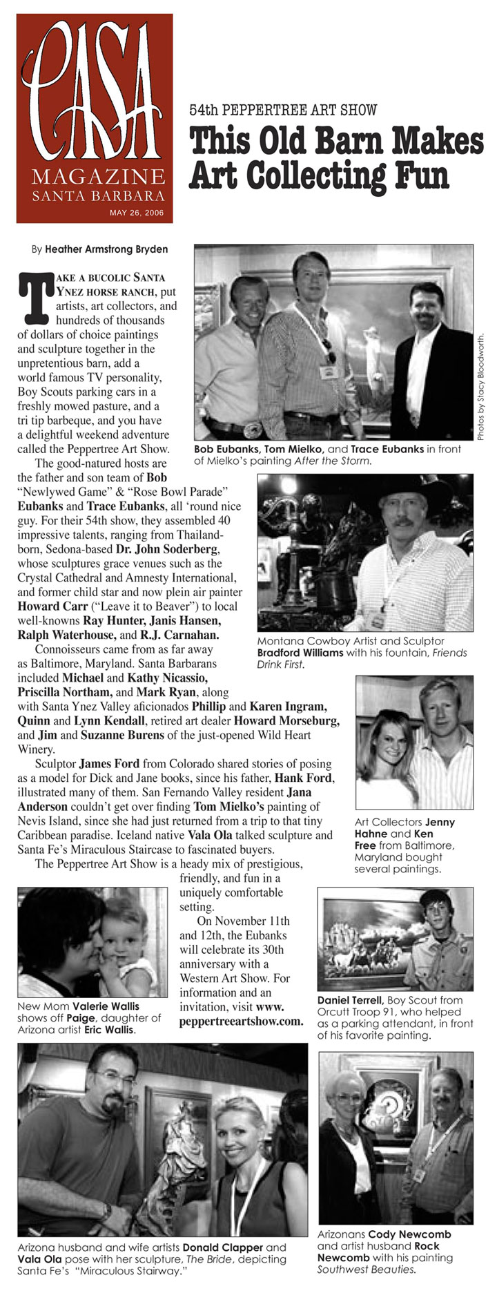 Casa Magazine - Peppertree Art Show